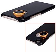 Apexel 180° Fish Eye Lens Fisheye Camera Lens for iPhone 6 Plus with Back Case Cover (Assorted Color)