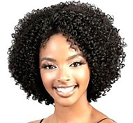 High Quality Black Fashion without Capacitance Curly Hair