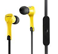 Ecouteurs ( Microphone/MP3/Portable/Ecouteurs ) Cablé - Pomme Dans l'oreille