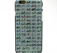 All Kinds of Bikes Pattern Hard Cover Case for iPhone 6