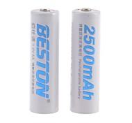 Batería - 2500mAh - mAh - NI-CD - AA - 2 - pcs -