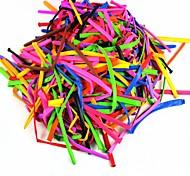 Tier lange verlängert Ballons machen - blau + pink (200 PC / 150cm)