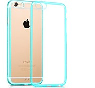 Simple Style TPU+PC High Quality Back Cover Case for iPhone 6 Plus (Assorted Colors)