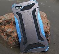 trasformatore impermeabile e antipolvere e anti freddo metallo raschiare posteriore Case for iPhone 6 (colori assortiti)