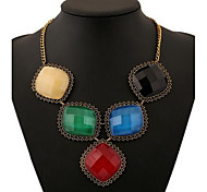 Women's Crystal accessories exaggerated
