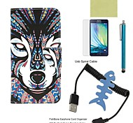 Compatible Accessories Bundle Includes Screen Protector and Fishbone and Stylus and Spiral USB Cable for Galaxy A5