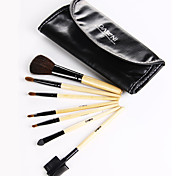 7 Makeup Brushes Set Synthetic Hair Face / Lip / Eye DANNI