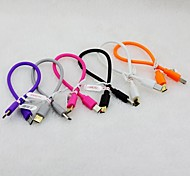 V8 Chatger Cable For Samsung Mobile Phone (Assorted Color)