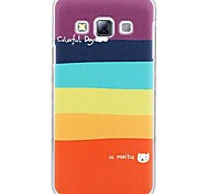 Fashion Painted Rainbow PC Hard Case for Samsung Galaxy A3