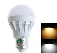 Zweihnder E27 5W 450LM 5500-6000/3000-3500K 9x5630 SMD LEDs White Light Warm White Globe Bulb(AC 85-265V)