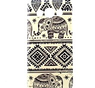 Elephant  Pattern TPU Soft Case for Samsung Galaxy A3/A3000
