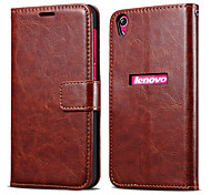 Retro PU Leather Wallet Case for Lenovo S850 (Assorted Colors)
