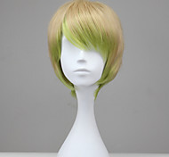 Harajuku Lovers Ombre Color Short Straight Synthetic Sweet Lolita Wig
