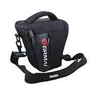 EIRMAI SS0-2S Portable Nylon Camcorder Shoulder Triangle Bag Size S(Black)