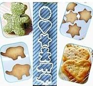 6PCS  DIY Biscuit Mold