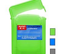 """maiwo 2.5 """"2pcs HDD de casos de disco duro caja de disco duro de protección kp001 verde / gris / azul"""