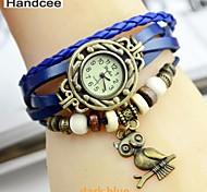 Handcee® Women's Fashion Watch Beautiful Owl Decoration Watch Many Colors