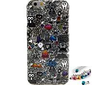 iPhone 6 - Back Cover - Gemengde Kleur/Cartoon/Speciaal Design/Nieuwigheid/Anime/Ultra Slim/Ontworpen in China ( Multi-kleur , Tpu )