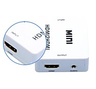 1080p HDMI Audio Extractor Splitter HDMI 1.4 digital auf 3,5 mm Audio-Adapter aus Analog