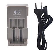 EU Plug Universal Charger for 3.7V Rechargeable Li-ion Batteries