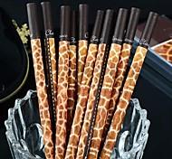 Giraffe Grain Black Ink Gel Pen(1 PCS)