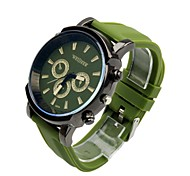 Women's And Men Unisex Charm Sports Watch Quartz Analog Candy color for Boy/Girl/Students