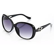 Gafas de sol de gran tamaño 100% UV400 de las mujeres