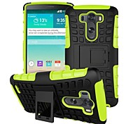 CINEYO  heavy Duty Rugged Dual Layer Case with kickstand for LG G3 Case (Assorted Colors)