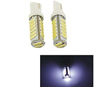 Carking™ T10-7014-20SMD Car LED Rome Lamp Clearance Lamp-(2PCS)White Light