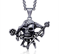Fashion Jewelry Stainless Steel Men's Pendant (1pc)
