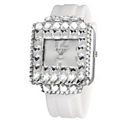 Women's Bracelet Watch Quartz Analog Sparkle Rectangle Dial