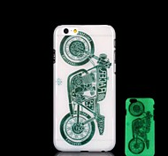 Motorcycle Pattern Glow in the Dark Hard Case for iPhone 6