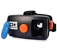 """NEJE Universal Virtual Reality 3D Video Glasses with Bluetooth Controller for 4~5.7"""" Smartphone"""
