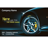 Business Cards 200pcs Classy Automotive & Transportation Pattern of Art Paper