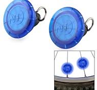 Nite Ize 2 condujo-1 en modo mini luces radios resistentes al agua multi-colores de luz rueda de bicicleta