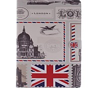 Wkae® UK Flag and London Big Ben Pattern PU Leather Case with Stand for iPad Air/iPad 5