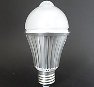1 pcs E26/E27 7 W 14 SMD 5730 560LM LM Warm White/Cool White BA/BR/G Sensor Globe Bulbs/LED Smart Bulbs AC 85-265/AC 100-240 V