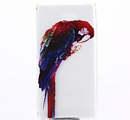 Parrot Pattern TPU Soft Cover for Sony Xperia M2 S50h