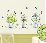 Environmental Removable Bonsai PVC Wall Sticker