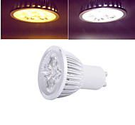 12W GU10 LED Spot Lampen 4 High Power LED 96 lm Warmes Weiß / Kühles Weiß AC 85-265 V 1 Stück