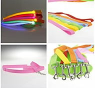 Flashing LED Light Flash Small Pet Leashes for Pet Dogs
