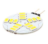 G4 3.5 W 15 SMD 5730 180-320 LM K Warm wit/Natuurlijk wit 2-pins lampen AC 12 V