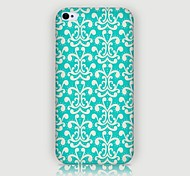Flowers Pattern Back Case for iPhone4/4S