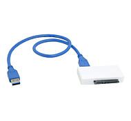 """usb 3.0 a SATA 22 pin adattatore per il pc portatile da 2,5 """"HDD da 3,5 pollici hard disk con cavo"""