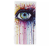 Colorful Eyes Pattern Soft TPU Case for Sony Xperia M2
