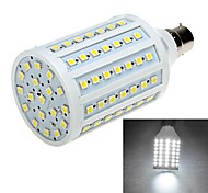 B22 20W 102 LEDs 5050 SMD Led Corn Light Bulb Lamp - Cool White 110V