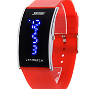 SKMEI® Men's Blue LED Digital Watch Japanese Quartz Water Resistant Rubber Strap