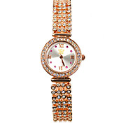 Women's Fashion Quartz Alloy Diamond Band Wrist Watch