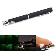 LS325 Pen shape Astral StarFall Green Beam Laser Pointer (5mw, 532nm, 2xAAA, Black)