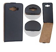 Protective PU Leather Magnetic Vertical Flip Case Cover Shell Protector for Sansumg A7/A700